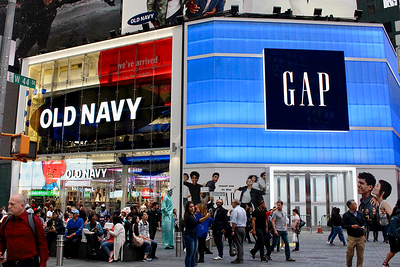 NYC delivery by SalSon to GAP's new Times Square store
