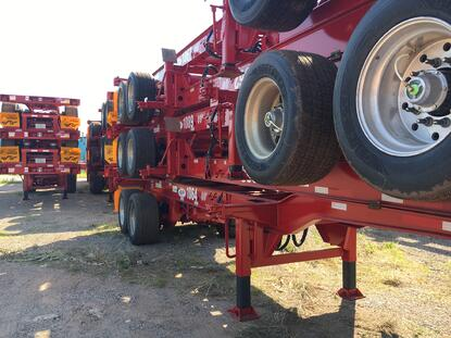 20/40 combo chassis from SalSon Logistsics
