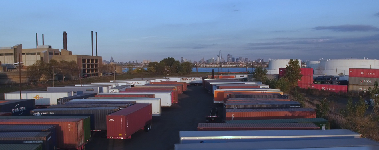 Newark Container yard