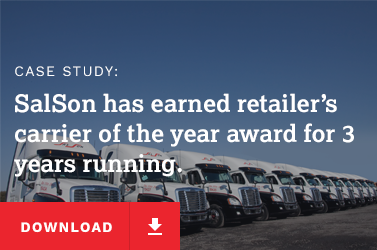 SalSon has earned retailer's carrier of the year award for 3 years running