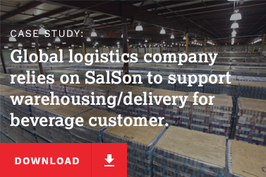 Global logistics company relies on SalSon to support warehousing/delivery for beverage customer